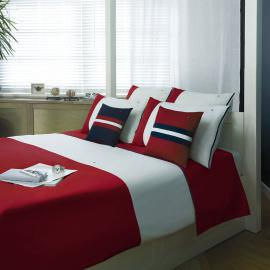 Tommy Hilfiger Bettwäsche Colour Block red