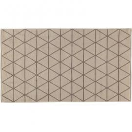 Framsohn Badematte Graphics Triangle Beige - 008 - 67x120 cm