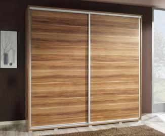 VIVIA 205 - plum sliding wardrobe doors