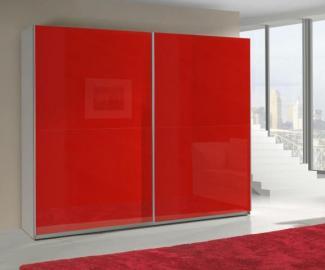 Presta RED 1 - red wardrobe