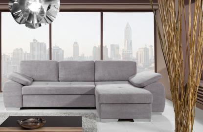 Milton III - Fabric corner sofa