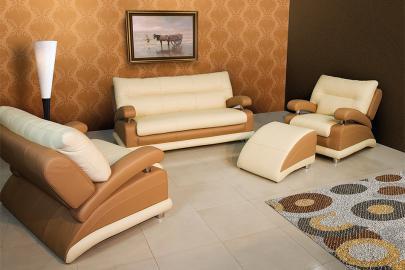 MX - Leather modern sofa bed