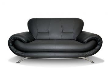 RINA 3 - 3 seater faux leather sofa