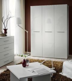 Wardrobe 135 - White armoire