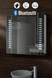 Galactic Illuminated LED Bluetooth Bathroom Mirror Cabinet