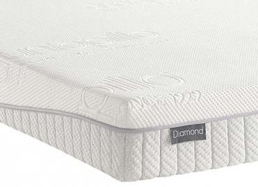 "Dunlopillo Diamond Mattress - Small Double (4' x 6'3"")"