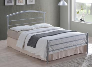 "Time Living Silver Brennington Bed Frame - Single (3' x 6'3"")"