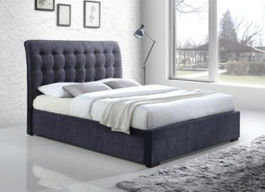 "Time Living Light Grey Hamilton Bed Frame - Double (4'6"" x 6'3"")"