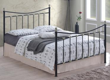 "Time Living Black Oban Bed Frame - King Size (5' x 6'6"")"