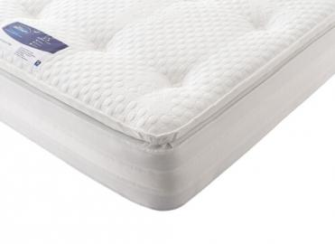 "Silentnight Geltex Select 1850 Mirapocket Mattress - Single (3' x 6'3"")"