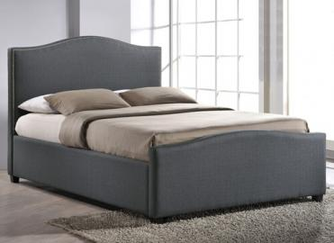"Time Living Grey Brunswick Ottoman Bed Frame - Double (4'6"" x 6'3"")"