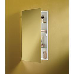 Jensen 869P24WHG Specialty Flush Mount Single-Door Recessed Mount Medicine Cabinet by Jensen