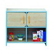 Nature Medium Storage Unit Blue Edging