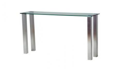 Derby frosted/coloured glass Table 800mm x 800mm