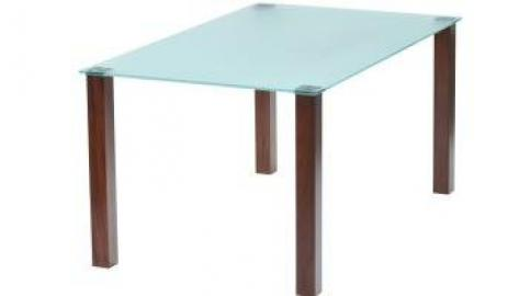 Union frosted/coloured Table 700mm x 700mm