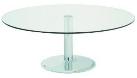 Global Coffee Table 1000 dia clear