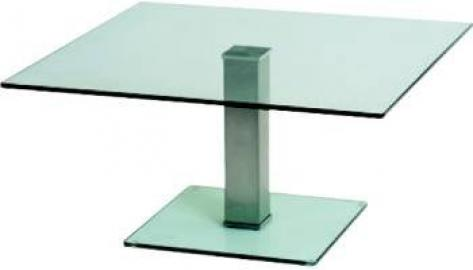 Semplice Coffee Table 330 525 x 525 frosted/coloured
