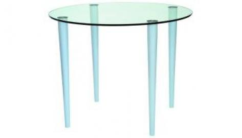 Slender Pin Coffee Table 600 x 400 frosted/coloured