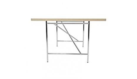 Children's Desk Egg Man 150x 75cm White with Silver Frame, Richard Lampert Furniture