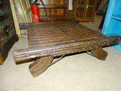 int. d'ailleurs - Coffee Table with old wagon's elements - 3 - VM050