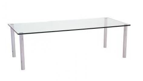 Micro Knee black glass Coffee Table 600 x 400