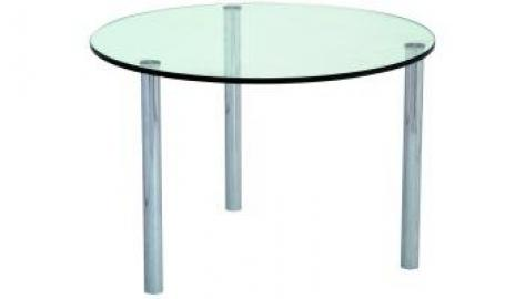 Micro Coffee Table 700 dia clear