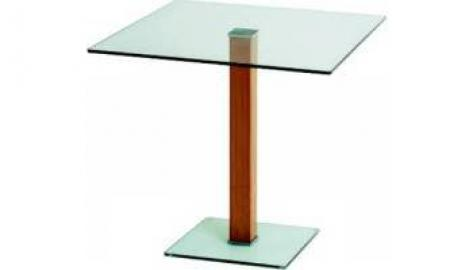 Semplice Elbow Table 525 x 525 frosted/coloured