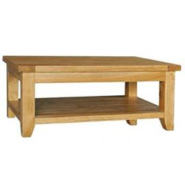 Calgary Rectangular Coffee Table with Shelf