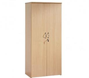 Self Colour Cupboard By Ready Office - Height: 1790 MM; Width: 800 MM; Depth: 470 MM - Color: Beech