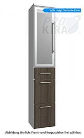 Classic Line Puris (HNA093B7ML / R Tall Cupboard Bathroom Cupboard 30 CM