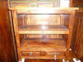 int. d'ailleurs - tv stand rosewood 2 drawers. - PAL115