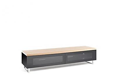 Techlink 80-Inch TV Stand - Oak