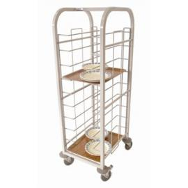 Self Clearing Trolley - Single 10 trays.