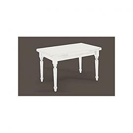 Table 160 x 85 All 240laccato White Solid Wood Various Sizes – As Photos White and Ivory