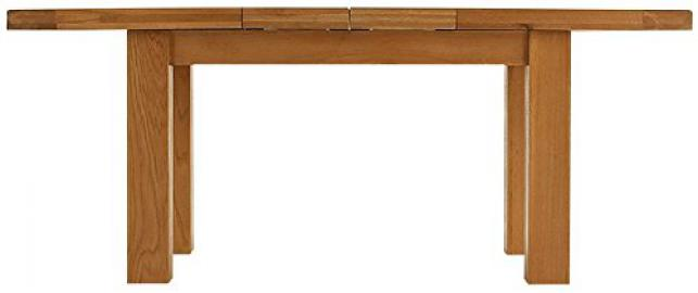 Oakhampton Chunky Oak 1.3m Butterfly Extending Table