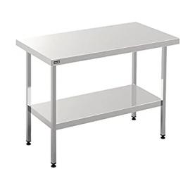 Lincat Centre Table 1800mm Dimensions: 900(H)x 1800(W)x 650(D)mm Weight 32kg