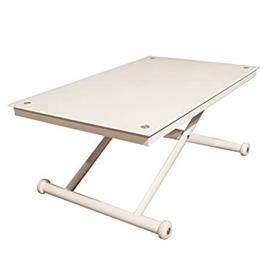 Rr Design–Riser Table Glass Table Living Room White Extra White RR Design Men's Ricky