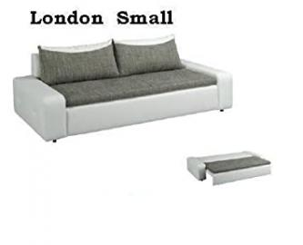 2/3-seater London Small Sofa Couch with Bed function