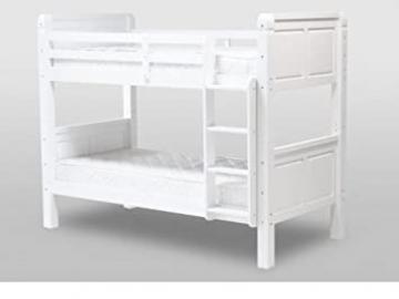 Corona Pine White Bunk Bed