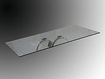GLASS 160X90 CM. CALIMA DINING TABLE