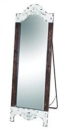 Benzara Wood Standing Wall Accent Mirror, 71 by 28-Inch by Benzara