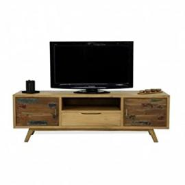 Solid Wood TV Stand, 145 cm