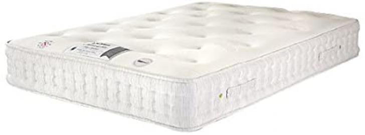 HEALTH BEDS PICASSO 1000 WITH WOOL SILK AND CASHMERE 3 ft Single Mattress
