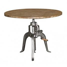 Height Adjustable Crank Table