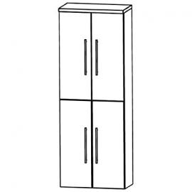 In Swing (HNA036 A7) Bathroom Furniture Tall 60 cm