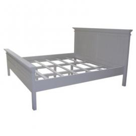 Nova Solo Bed, Mahogany, White, Super-King