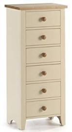Camden Painted 6 Drawer Chest