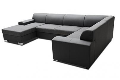 Interior design Darwon Sofa Couch Corner Sofa Corner Couch Big XXL 01326