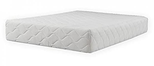 Concept Memory Sleep Pocketflex Visco 25 Pocket Sprung Foam Mattress - King (Luxury 400g Quilted Zip-Off Cover), Fabric, Multicolour
