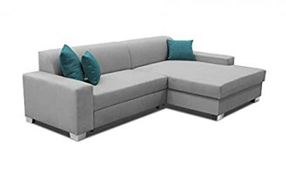 Bigsofa Anika Sofa Couch Corner Sofa Corner Couch with Bed function Sofa bed 01311